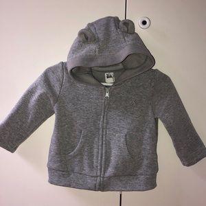 BabyGAP grey hoodie